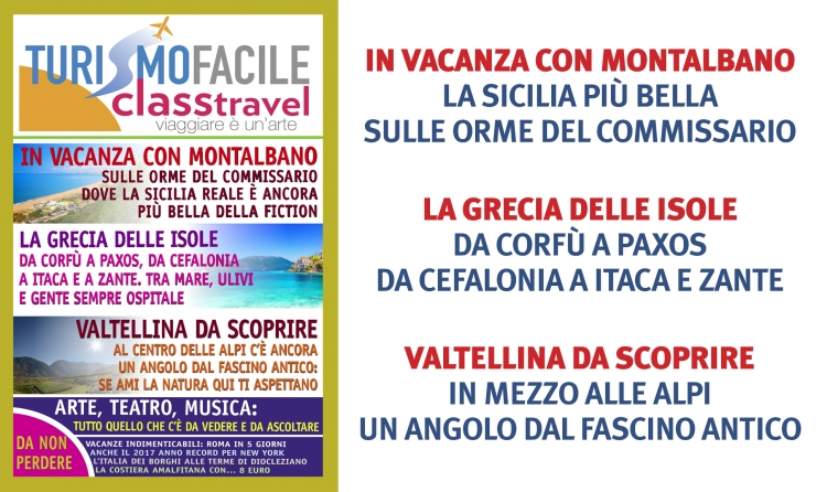 L'ESTATE È IN ARRIVO: LEGGI TURISMO FACILE-CLASS TRAVEL