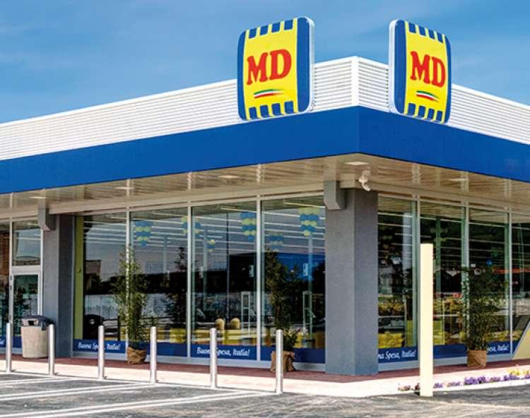 Il discount MD lancia la sfida: 45 nuovi punti vendita e altri 1.600 posti