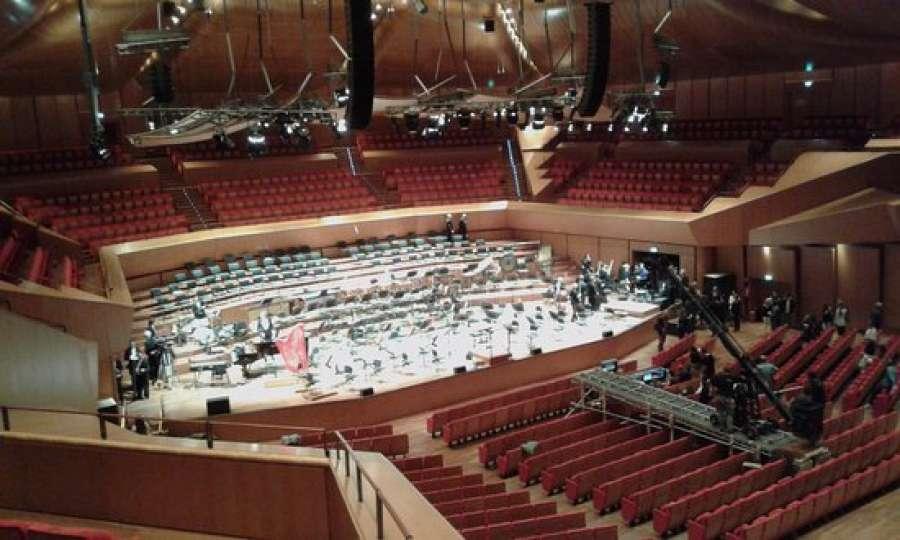 Lavoro facile tv teatro musical danza ecco i casting for Auditorium parco della musica sala santa cecilia